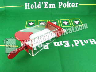 China Magic Products Baccarat Dealing Shoes Poker Size New Technology / Blackjack supplier
