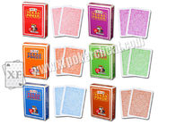 China Italy Texas Modiano Plastic Jumbo Playing Side Marked Cards For Poker Predictor company