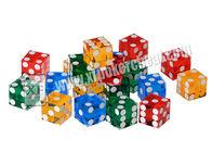 China Acrylic Customizable Sharp Magic Trick Dice Gambling Games Regular factory