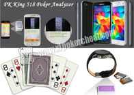 China Dominica Bicycle Marked Poker Cards Side Barcode For Poker Scanner Device factory