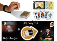 China Cheating Da Vinci Plastic Marked Poker Cards With Invisible Barcodes ISO factory
