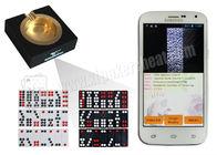 China White Poker Analyzer Phone Casino Magic Dice Invisible Gambling Accessories factory