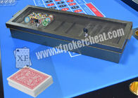 China Casino Metal Chiptray Hidden Lens Gambling Cheat Devices , Distance 15cm - 20cm factory