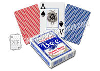 China Bee Jumbo Index Playing Cards Marked Cards Poker For Gambling Cheating factory