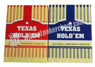 China Texas Holdem Playing Card With Poker Size And Jumbo Index Made By Plastic company