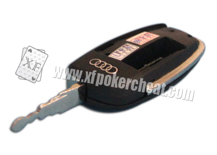 Audi Car Key Camera Card Reader To Scan Bar Code Sides Cheating Playing Cards
