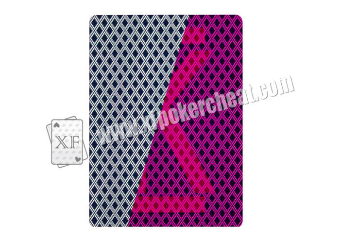 3A Bridge Size Paper Invisible Playing Cards For Entertainment / Poker Games