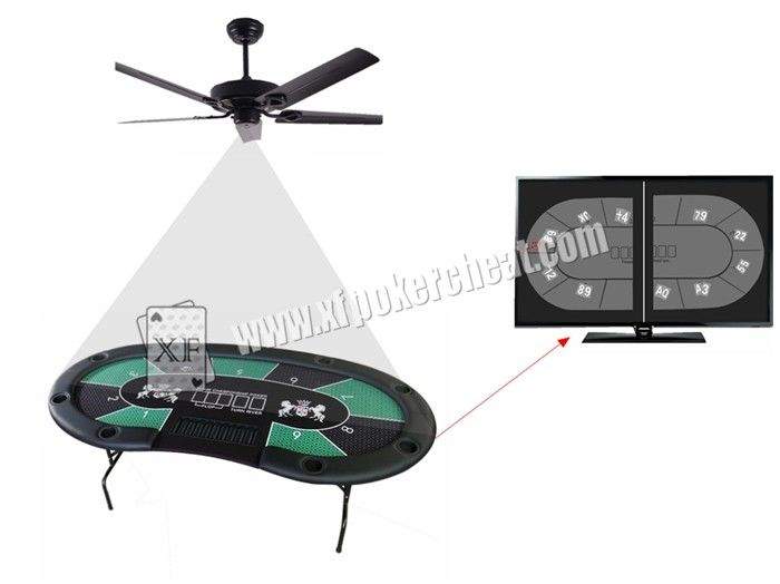 Pin Hole Ceiling Fan Camera With Poker Game Monitoring