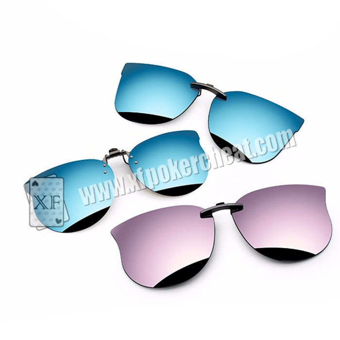 Personality Perspective Sunglasses For Backside Marked Playing Cards