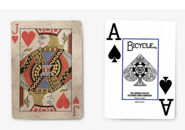 Plastic Bicycle Texas Poker Invisible Playing Cards For Cheating Device
