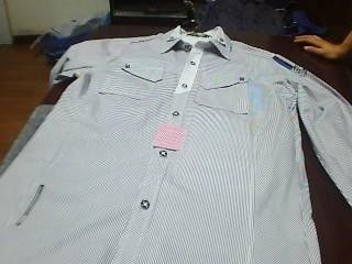 Proessional Poker Cheat Device Short Sleeve Cotton Shirt For Playing Card