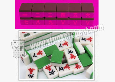 Blue Cheat Mahjong for UV Contact Lenses /  Mahjong Games / Gambling Tools