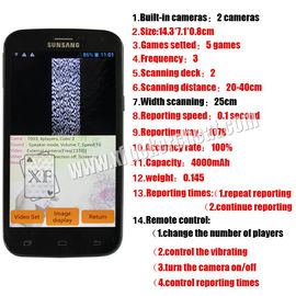 PK King S518 Poker Cheating Devices Analyzer Phone white and black