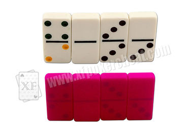 White Marked Dominoes For UV Contact Lenses,Dominoes Games,Gambling
